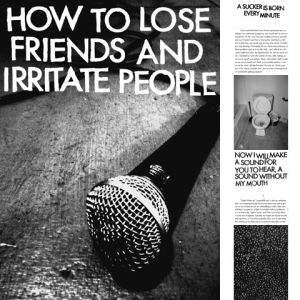 "picture of ""How To Lose Friends And Irritate People"" Book/Flexi"